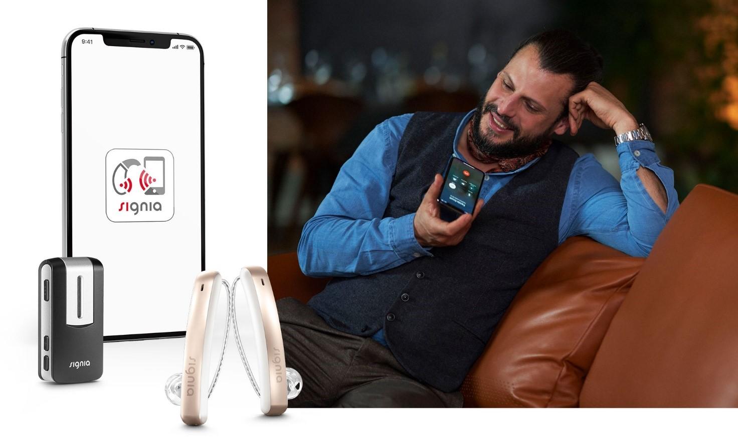 aparaty słuchowe Styletto Connect